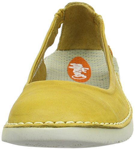 Softinos Tor384sof, Ballerines femme Yellow (Yellow)