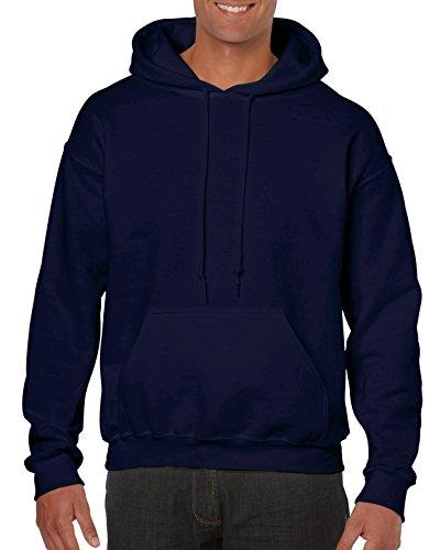 Gildan Men's Big and Tall Heavy Blend Fleece Hooded Sweatshirt G18500, Navy, XXX-Large Tall Mens Fleece