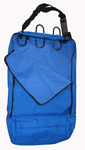 Deluxe Trensenzaum Halfter Tasche mit abnehmbarem Tack Rack Royal Blau -