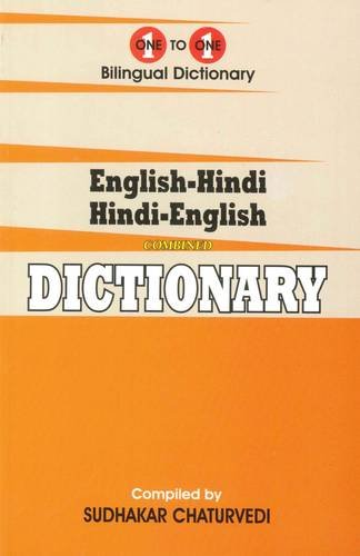 English-Hindi & Hindi-English One-to-One Dictionary  Script