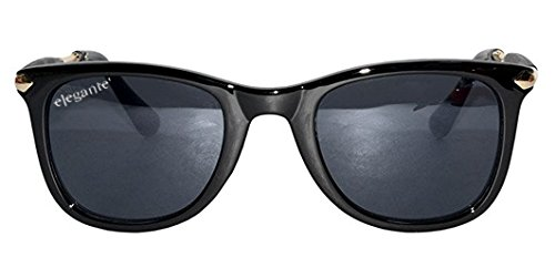 Elegante Combo of UV Protected Trendy Gentlemen Wayfarer Sunglasses for Men