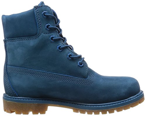 Timberland 6 6in Premium Boot-W, Stivaletti Donna Blue Ink Nubuck