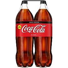 Coca-Cola - Zero, Botella de Plástico 2 L (Pack de 2)