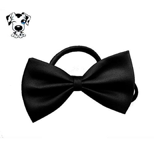 Culater® Bowknot Krawatte Fliege Katze Hund Haustier Halsbänder Halskette schwarz (Kostüm Fliege Billig)