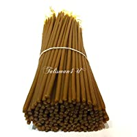 100 Natural Pure Beeswax Taper Candles 9 Inch Tall Church Jerusalem Holy Land Scented Candle Gift Box
