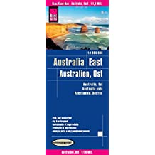 Reise Know-How Landkarte Australien, Ost (1:1.800.000): world mapping project