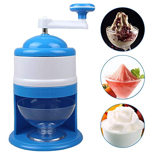 BAODANH Home Easy Ice Shaver Brecher Handheld Handstyle Snow Manuelle Crushing Eismaschine