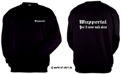 world-of-shirt Herren Sweatshirt Wuppertal Ultras (Strümpfe Loom Of Fruit The)