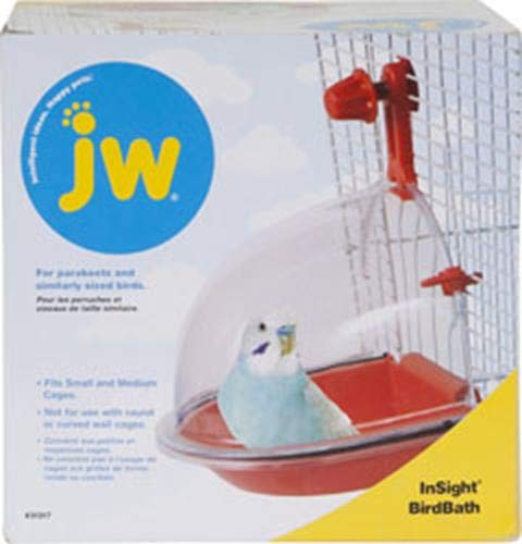 JW Pet Company Insight Vogeltränke Bird Accessory (Runde Nymphensittich Vogelkäfig)