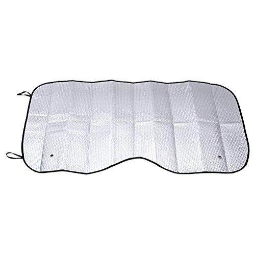 Preisvergleich Produktbild WINOMO Aluminium Folie Auto Windschutzscheibe Windschutz Sonnenschutz für Autoscheiben vorne hinten
