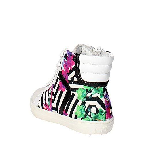 Cult CLJ101467 Sneakers Fille Blanc/Noir