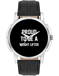Wrist Watch For Men - Proud To Be A Weight Lifter Best Gift For WEIGHT LIFTER - Analog Men's And Boy's Unique...