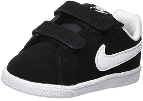 Nike Court Royale (TDV), Zapatillas de Gimnasia Unisex Niños, Negro (Black/White 002)...