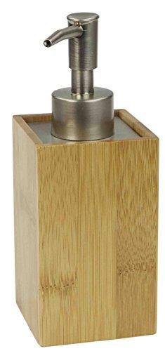 Unbekannt Home Basics Bambus Badezimmer Zubehör Set Lotion Dispenser Natur -