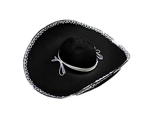 DRESS ME UP Riesiger Sombrero Mexiko Mexikanerhut Hut Mariachi H2