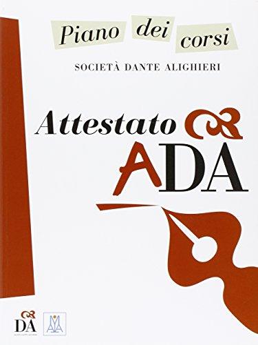 Attestato ADA
