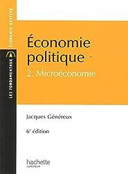 Économie politique 2 : Microéconomie