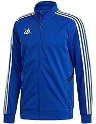 adidas Tiro19 TR Jkt, Giacca Sportiva Uomo, Bold Dark Blue/White, L