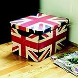 'Brit Box' Union Jack Design Storage Box 22 Litre
