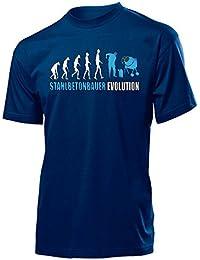STAHLBETONBAUER EVOLUTION - Cooles Fun T-Shirt Herren S-XXL