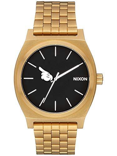 Nixon Damen Analog Quarz Uhr mit Edelstahl Armband A045-3097-00 (Digital Mickey Mouse Watch)