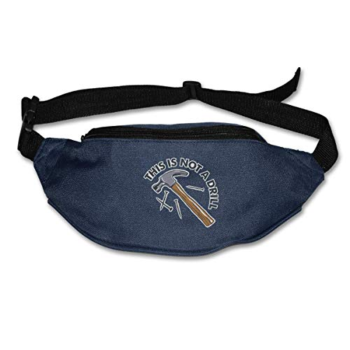 Waist Bag Fanny Pack This is Not A Drill Pouch Running Belt Travel Pocket Outdoor Sports - Drill-pouch