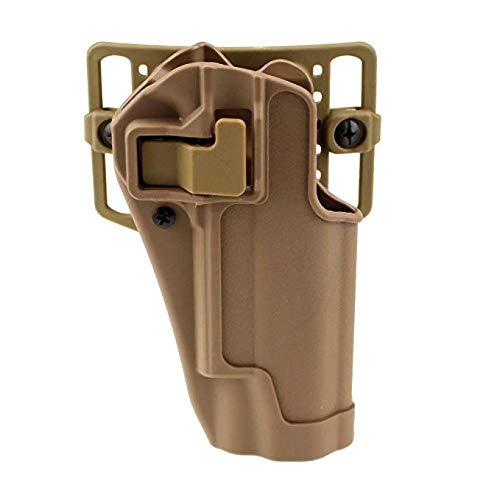 Gexgune militärische rechte Hand CQC Pistole Taktische Concealment Taille Gürtel Schleife Paddle Gun Colt 1911 (2 Farben optional) -