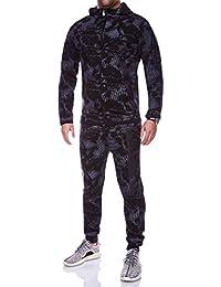 MT Styles ensemble pantalon de sport + sweat-Shirt jogging survêtement R-854