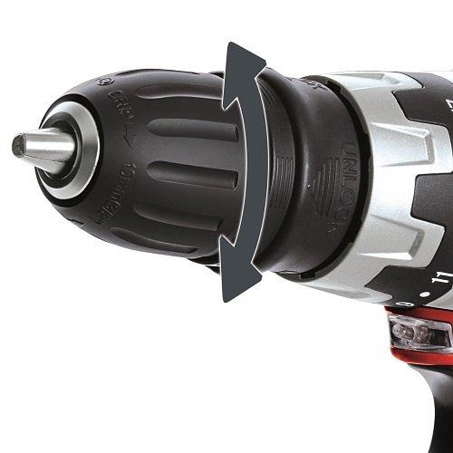Einhell Akku Bohrschrauber TC-CD, 12 V, 1,3 Ah, 2 Gang, 20 Nm + LED-Licht + abnehmbares Bohrfutter - 6
