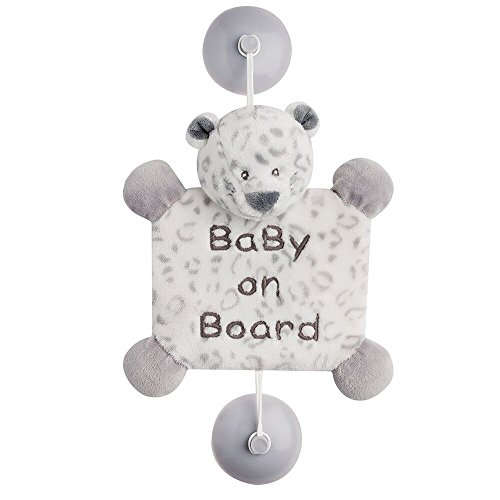Nattou Loulou, Lea, & Hippolyte - Baby On Board Lea The Snow Leopard