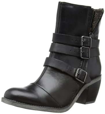 Hush Puppies Womens Rustique Ankle_BT Cowboy Boots H506812 Black 4 UK, 37 EU