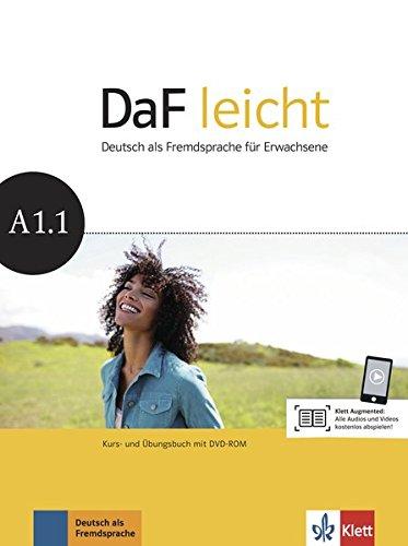 Daf Leicht: Kurs-und Ubungsbuch A1.1 MIT Dvd-rom por Collectif