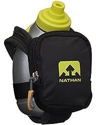 Nathan Quick Shot Plus - Cantimplora, color negro
