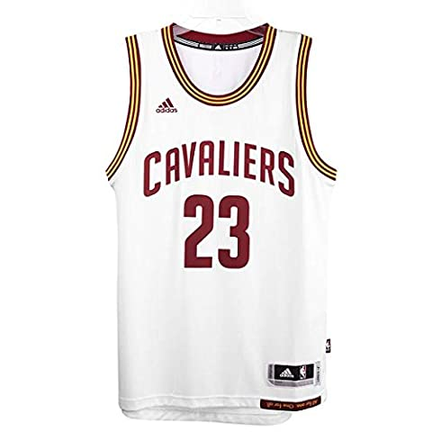 Adidas Men's Cleveland Cavaliers Swingman Jersey Multi-Coloured white/red