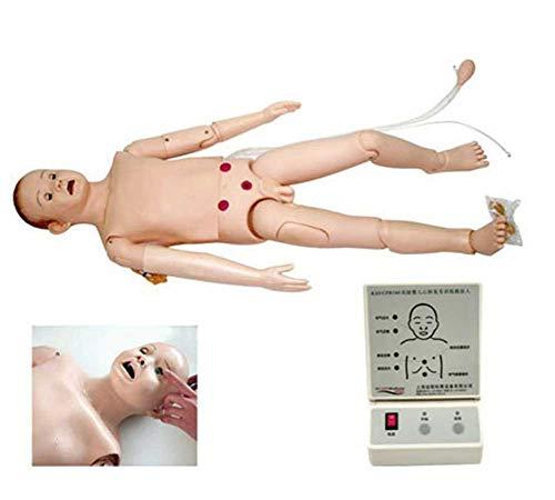 MKULOUS Säuglinge Herz-Lungen-Wiederbelebungs-Simulator Modell CPR für Unterrichtsforschung