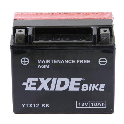 Exide Motorrad Batterie 12V 10Ah 90A YTX12-BS