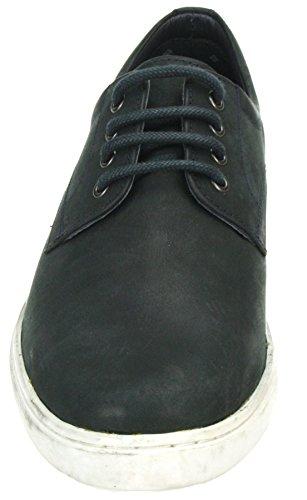 Red tape Teviot Marron bleu marine en cuir à lacets de chaussures de sport casual avec pompe Bleu - Bleu marine