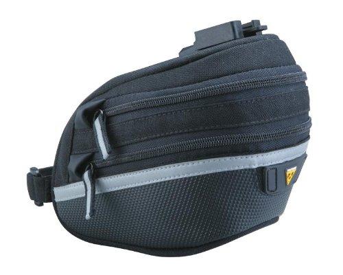 TOPEAK Wedge Pack II Satteltasche Fahrrad Inkl. Halterung QuickClick Sattelstütze Kompakt, 15000210, Größe Large