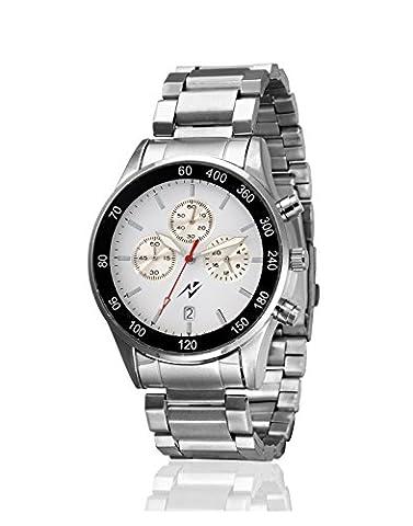Yepme Herren Chronograph Uhr - Grau / Silber