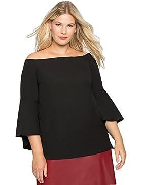 Melisita - Camisas - Túnica - Básico - para mujer negro negro 46