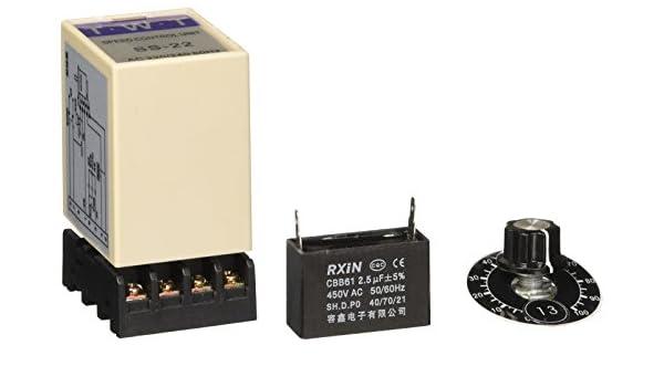 Miki/&Co Fusibles Rapide en C/éramique De Chapeau De Cylindre 500V 4A RO15 10x38mm 20Pcs