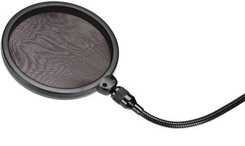 Samson PS 01 professioneller Pop Filter - Popschutz - Popfilter - für Studiomikrofone (Samson Mikrofon-ständer)