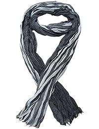 Chèche, foulard, écharpe pour homme ou mixte, gris dominant, 180 x 60 cm. Nouveauté. C4.