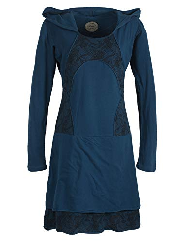 Vishes - Alternative Bekleidung - Damen Langarm Lagenlookkleid -
