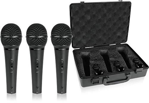 Behringer ULTRAVOICE XM1800S kit 3 microfoni dinamici cardioidi