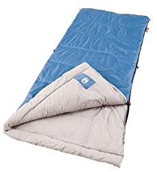 Coleman Sun Ridge Sleeping Bag 2000016328 (Blue)
