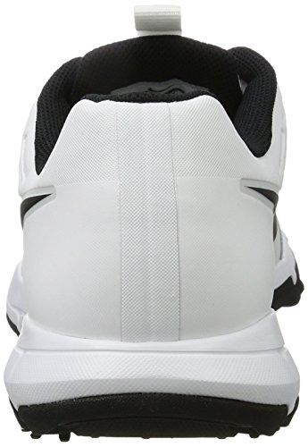 Nike Explorer 2 S, Scarpe da Golf Uomo Bianco (White/black)