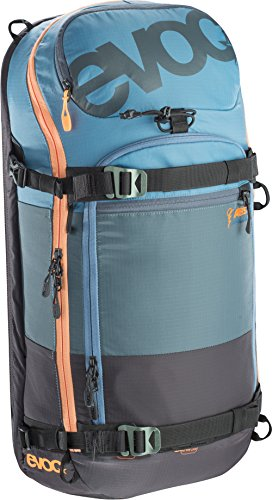 Lawinenrucksack Evoc ZIP-ON ABS PRO TEAM 20L Rucksack Copen Blue-Slate-Mud