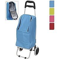 2-in-1Trolley Einkaufstrolley mit Rädern zusammenklappbar HPRC Golf Cool Kühltasche
