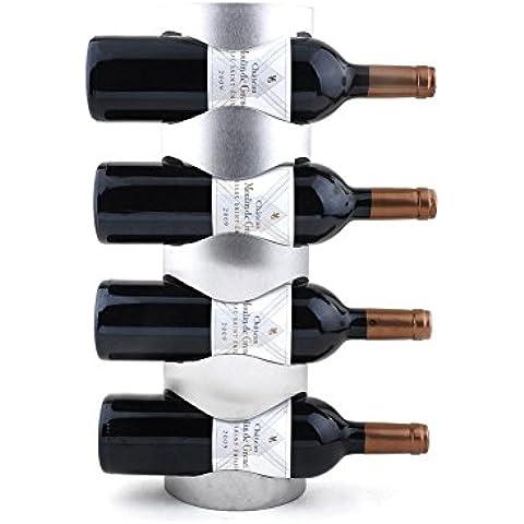 H & M Regal Wein des Edelstahl